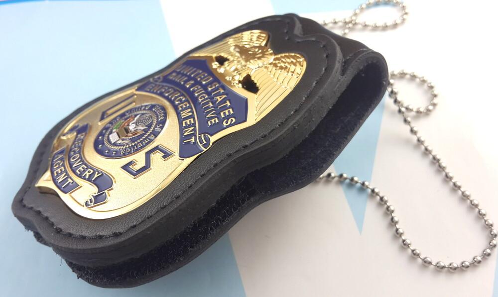 bail  u0026 fugitive enforcement recovery agent metal badge 2 1